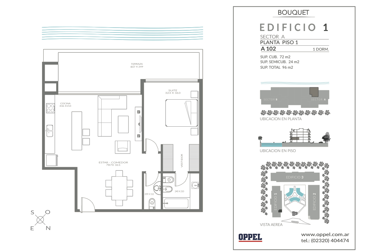 EDIFICIO 1 - Unidad A102