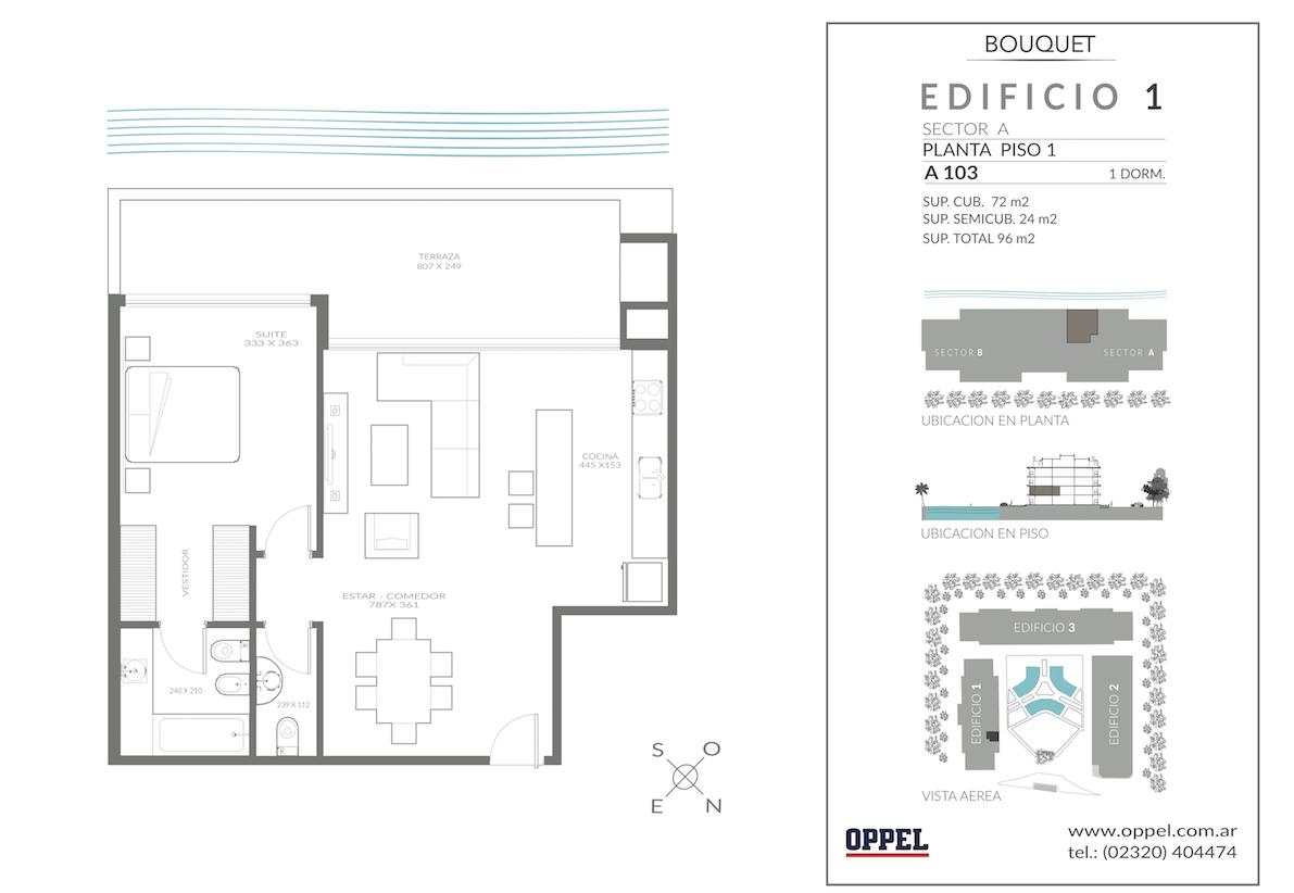 EDIFICIO 1 - Unidad A103