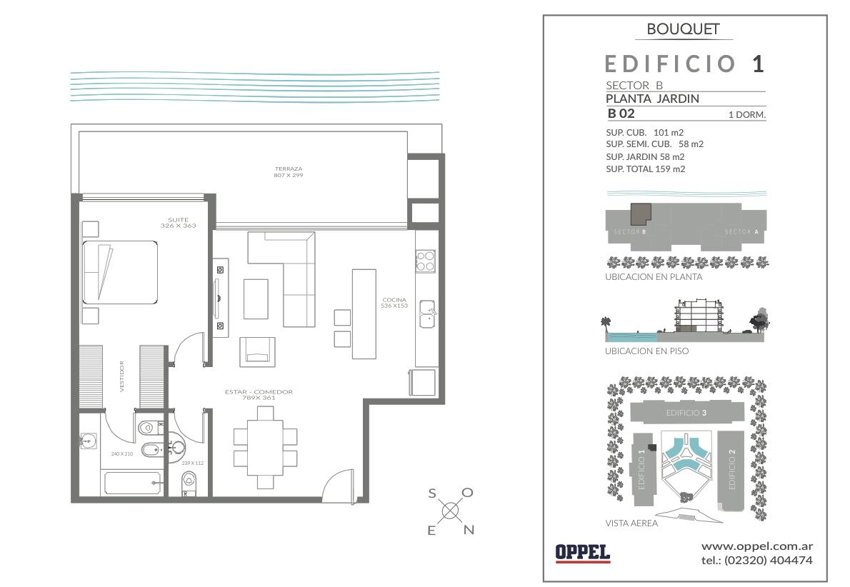 EDIFICIO 1 - Unidad B02