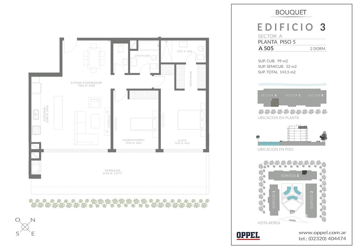 EDIFICIO 3 - Unidad A505