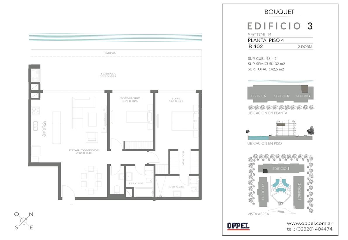 EDIFICIO 3 - Unidad B402