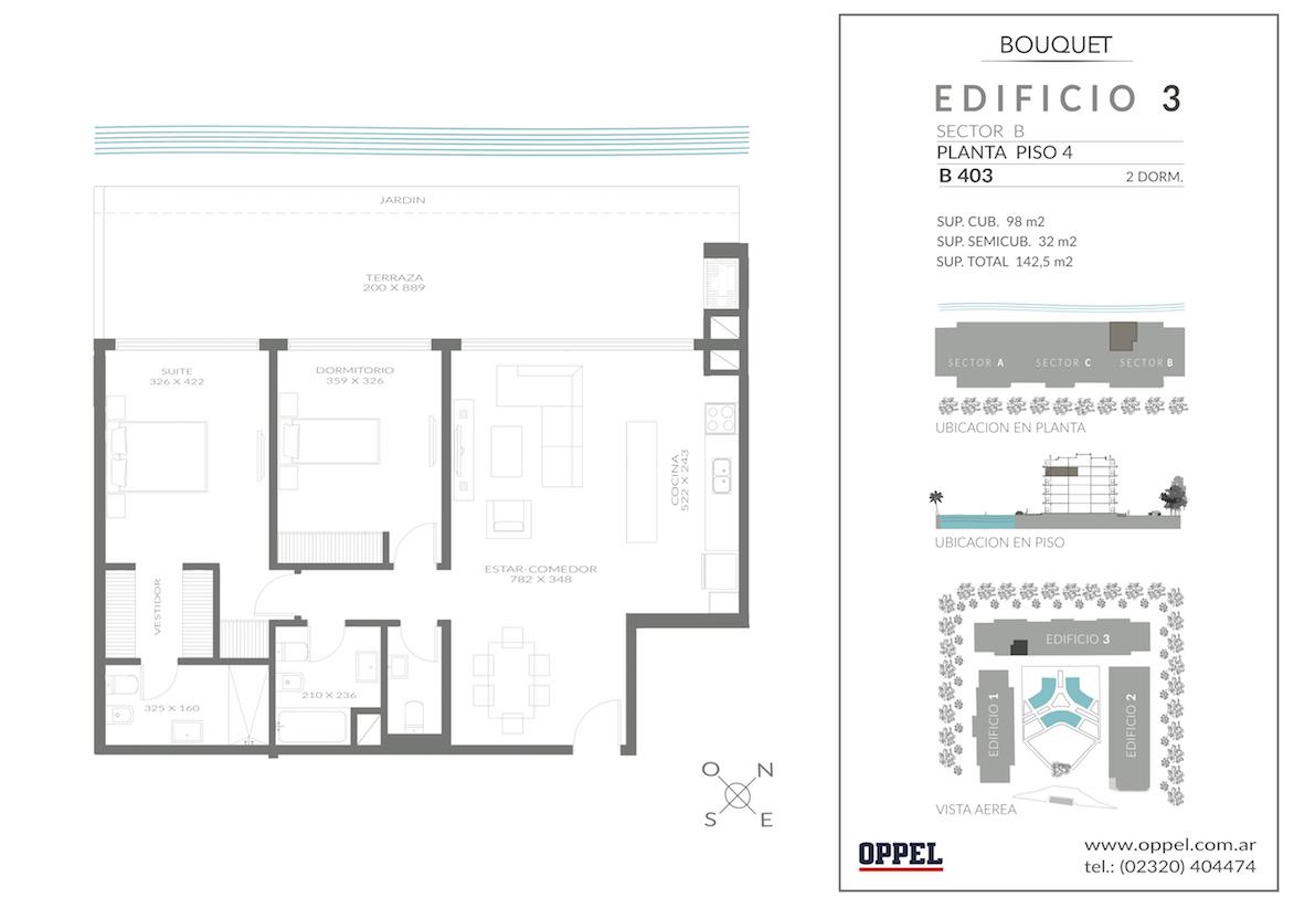 EDIFICIO 3 - Unidad B403