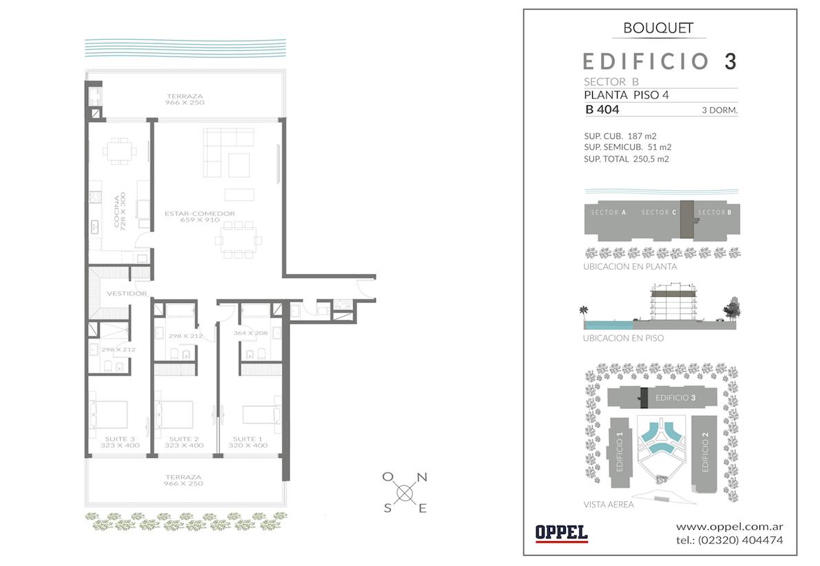 EDIFICIO 3 - Unidad B404