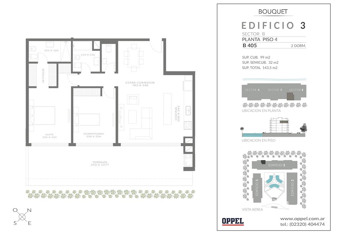 EDIFICIO 3 - Unidad B405