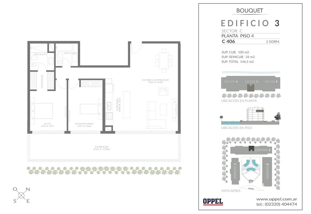 EDIFICIO 3 - Unidad C406